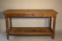 C19th Oak drapers table - picture 2