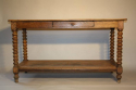 C19th Oak drapers table - picture 3