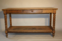 C19th Oak drapers table - picture 4