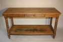C19th Oak drapers table - picture 6