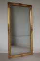 French mercury glass split level mirror, Napoleon III c1880 - picture 1