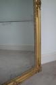 French mercury glass split level mirror, Napoleon III c1880 - picture 4