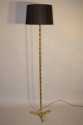 Gold bronze bamboo floor lamp - picture 2