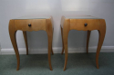A Pair of Rene Prou Bedside Cabinets or Side Tables - picture 1