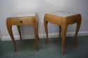 A Pair of Rene Prou Bedside Cabinets or Side Tables - picture 3