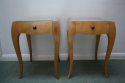 A Pair of Rene Prou Bedside Cabinets or Side Tables - picture 4