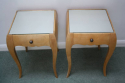 A Pair of Rene Prou Bedside Cabinets or Side Tables - picture 5