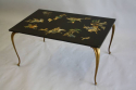 An unusual inlay stone top coffee table. French c1950 - picture 6