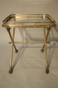 A charming silver tray table - picture 5