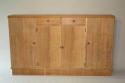 Narrow Oak side cabinet, c1950 - picture 1