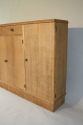 Narrow Oak side cabinet, c1950 - picture 2