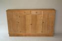 Narrow Oak side cabinet, c1950 - picture 3