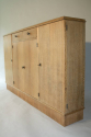 Narrow Oak side cabinet, c1950 - picture 4