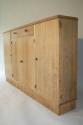 Narrow Oak side cabinet, c1950 - picture 4