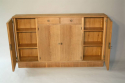 Narrow Oak side cabinet, c1950 - picture 5