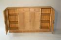 Narrow Oak side cabinet, c1950 - picture 5