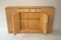Narrow Oak side cabinet, c1950 - picture 6