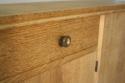 Narrow Oak side cabinet, c1950 - picture 7