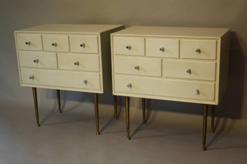 Pair of lacquered side cabinets