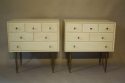 Pair of lacquered side cabinets - picture 6