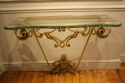 Gilt metal Pierre Luigi Colli console - picture 3