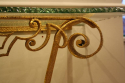 Gilt metal Pierre Luigi Colli console - picture 5