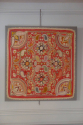 Early C20th beautifully detailed hand stitched Indian paisley textile - picture 2