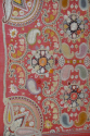 Early C20th beautifully detailed hand stitched Indian paisley textile - picture 3