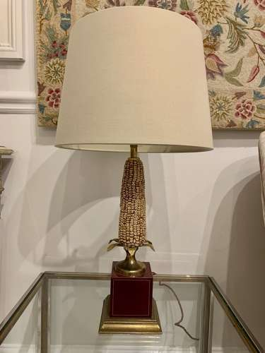 A pair of Maize table lamps