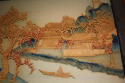 Pair of Chinese landscape carved wood pictures. Delicately executed c1920. - picture 3