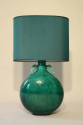 A jade green ceramic lamp by Paul Millais for Sevres, French c1950 - picture 2
