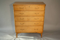 Satinwood chest of drawers - picture 1