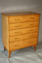 Satinwood chest of drawers - picture 3