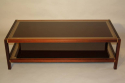 A Wooden Two Tier Rectangular Coffee Table - picture 1