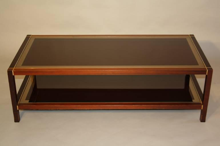 A Wooden Two Tier Rectangular Coffee Table
