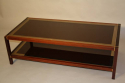 A Wooden Two Tier Rectangular Coffee Table - picture 4