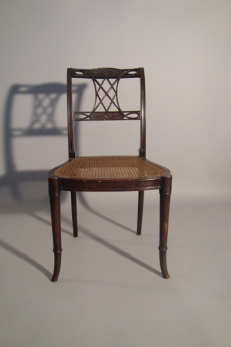 Antique side chair,  late George III