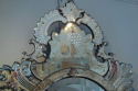 Superb C19th Venetian mirror with etched detail of grapes and fruit - picture 3