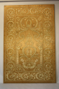 An Ottoman silk and metal-thread embroidered panel, C19th - picture 2