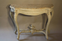 Napoleon III marble console with drawer - picture 2
