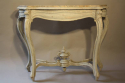 Napoleon III marble console with drawer - picture 3