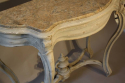 Napoleon III marble console with drawer - picture 5