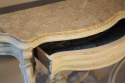 Napoleon III marble console with drawer - picture 6
