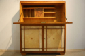 Italian 1950`s fruitwood and parchment cabinet - picture 2
