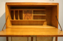 Italian 1950`s fruitwood and parchment cabinet - picture 3