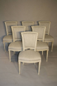A set of 6 Directoire style chairs - picture 1