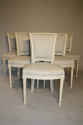 A set of 6 Directoire style chairs - picture 3