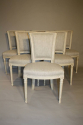 A set of 6 Directoire style chairs - picture 4
