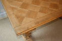 Wooden parquet extending dining table. French - picture 2