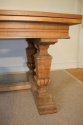 Wooden parquet extending dining table. French - picture 3